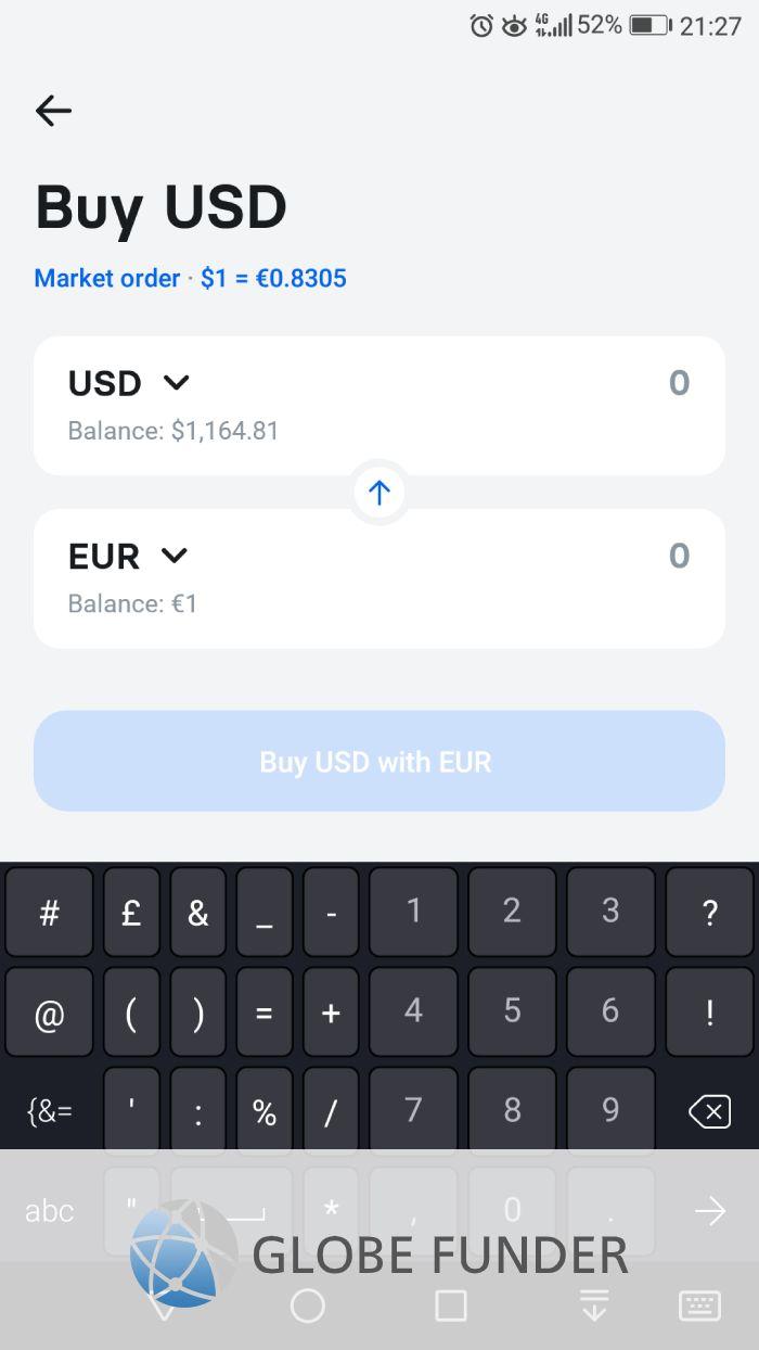 Revolut Exchange Funds