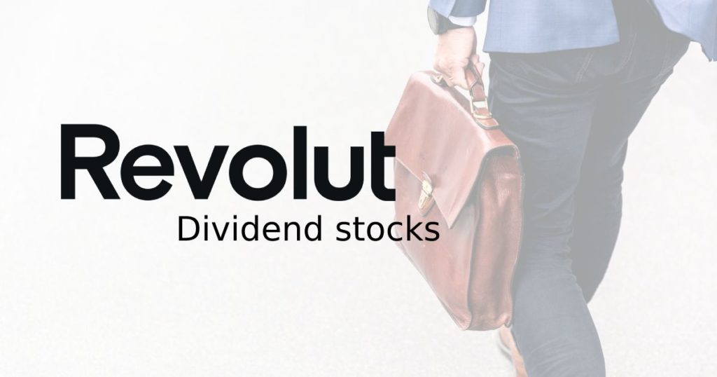 Stocks that pay dividends on Revolut.